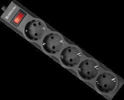 Defender-Protektor-sys-zashtita-ES-largo-3-3.0m-5-outlets-black