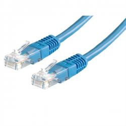 Patch-cable-UTP-Cat.-6-0.5m-Blue-21.99.1524