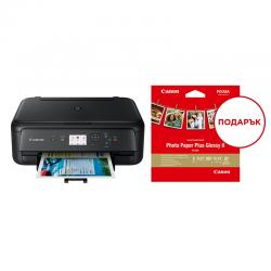 Canon-PIXMA-TS5150-All-In-One-Balck-Canon-Plus-Glossy-II-PP-201-5x5-20-sheets