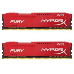 2x8GB-DDR4-2666-Kingston-HyperX-Fury-Red-KIT