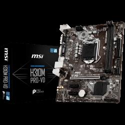 MSI-Main-Board-Desktop-H310-S1151-DDR4-USB3.1-USB2.0-SATA-III-DVI-D-VGA-