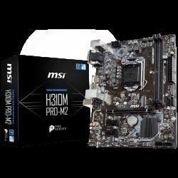 MSI-Main-Board-Desktop-H310-S1151-DDR4-USB3.1-USB2.0-SATA-III-M.2-mATX-Retail