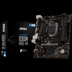 MSI-Main-Board-Desktop-B360-S1151-DDR4-USB3.1-USB2.0-SATA-III-M.2-DVI-D-VGA-