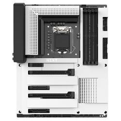 NZXT-N370-Z370-MATTE-WHITE-Socket-1151-300-Series-4xDDR4-CAM-RGB-HUE+