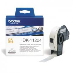 Brother-DK-11204-Multi-Purpose-Labels-17mmx54mm-Black-on-White-400-labels