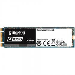 Kingston-240G-SSDNOW-A1000-M.2-2280-NVMe-PCIE-x2-lanes-150TBW-EAN-740617277333