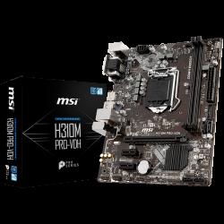 MSI-Main-Board-Desktop-H370-S1151-DDR4-USB3.1-USB2.0-SATA-III-mATX-Retail