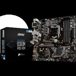 MSI-Main-Board-Desktop-B360-S1151-DDR4-USB3.1-USB2.0-SATA-III-M.2-mATX-Retail