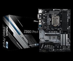 ASROCK-Main-Board-Desktop-Z390-S1151-4xDDR4-2xPCIe-x16-4xPCI-Ex1-ATX-retail