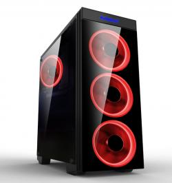 Makki-Case-ATX-Gaming-MAKKI-8872-RED-4x120mm-RED-double-ring-fans