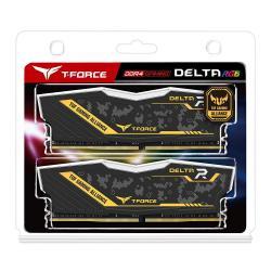 2x8GB-DDR4-2666-Team-Group-Delta-RGB-TUF-KIT