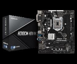ASROCK-Main-Board-Desktop-H310-S1151-2xDDR4-1xPCIe-x16-2xPCI-Ex1-mATX-retail