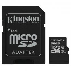 Micro-SDHC-32G-UHS-I-Cl10+Adapter-Kingston-Select+