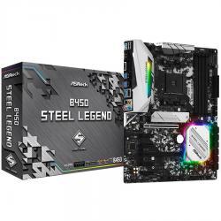 ASROCK-Main-Board-Desktop-B450-4xDDR4-HDMI-DP-2xPCIe-x16-4xPCIe-x1-ATX