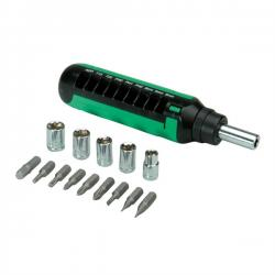 Screwdriver-15-in-1-Ratchet-Roline-19.06.1007