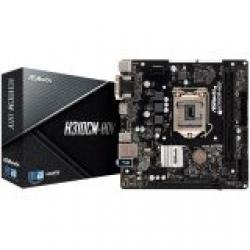 ASROCK-Desktop-H310-S1151-2xDDR4-1xPCIe-x16-1xPCI-Ex1-4-SATA3-GLAN-mATX