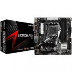 ASROCK-Main-Board-Desktop-AM4-B350-SAM4-4xDDR4-1xPCI-3.0x16-1xPCI-E-2.0x16-