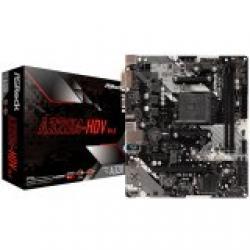 ASROCK-Main-Board-Desktop-AM4-A320-2xDDR4-1xPCI-E-x1-1xPCI-E-x16