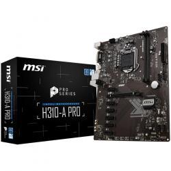 MSI-Main-Board-Desktop-H310-S1151-2xDDR4-1xPCI_Ex16-6xPCI-Ex1-ATX-Retail