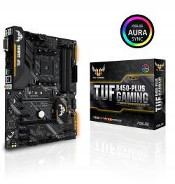 ASUS-TUF-B450-PLUS-GAMING-socket-AM4-4xDDR4-Aura-Sync