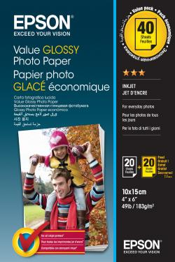 Value-Glossy-Photo-Paper-10x15cm-BOGOF
