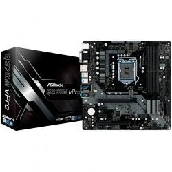 ASROCK-Main-Board-Desktop-Q370M-s1151-4xDDR4-2xPCI-3.0x16-2xPCI-Ex1-mATX-Retail