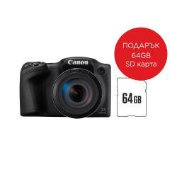 Canon-PowerShot-SX430-IS-Black-Sony-64GB-Micro-SD-Super-High-Speed-class-10