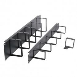 Formrack-19-1U-Cable-Management-Panel-with-metal-brackets