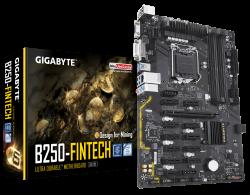 Gigabyte-GA-B250-FinTech-Intel-B250-S1151-4-x-DDR4-DIMM-up-to-64-GB