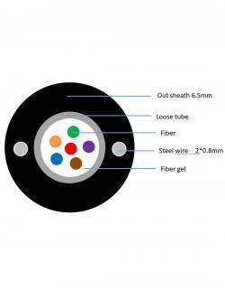 Armiran-optichen-kabel-4-vlakna-singyl-mod-G652D