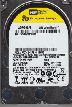 WD-WD740HLFS-HDD-74GB-SATAII-VelociRaptor-10000rpm-16MB-cache