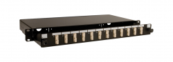 19-1U-optichen-pach-panel-za-do-12-SC-PC-Duplex-adaptera-teleskopichen-prazen