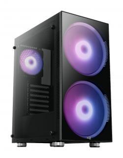 AeroCool-Case-ATX-Python-aRGB-2-x-200mm-ARGB-fans-Tempered-Glass