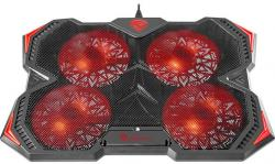 Genesis-Laptop-Cooling-Pad-Oxid-250-15.6-17.3-4-Fans-Led-Light-2-Usb
