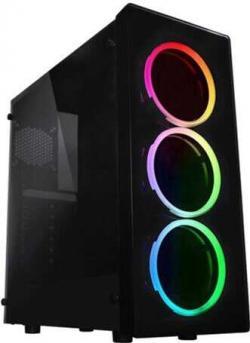 Chassis-GOLDEN-FIELD-X906-ATX-3xRGB-fans-USB-3.0-2x-USB-1.1-no-PSU-Black