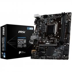 MSI-B365M-PRO-VH-m-ATX-Intel-LGA-1151-Socket-1-x-PCI-E-3.0-x16-slot-VGA-HDMI-2-DIMMs-Dual-Channel-DDR4-up-to-2666-2-x-PCI-E-x1-slots-1-x-M.2-slot-6-x-SATA-6Gb-s-6-x-USB-3.1-Gen1-6-x-USB-2.0-8111H-Gigabit-LAN-7.1-HD-Audio