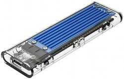 Orico-vynshna-kutiq-za-disk-Storage-Case-M.2-NVMe-M-key-USB3.1-Type-C