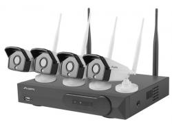 Lanberg-surveillance-kit-NVR-WIFI-4-channels-4-cameras-1.3MP-with-accessories