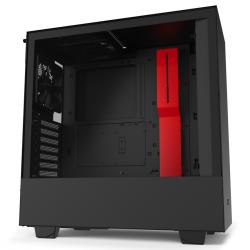NZXT-H510-Matte-Black-Red