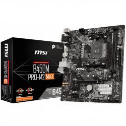 MSI-Main-Board-Desktop-B450-SAM4-2xDDR4-1xPCI-Ex16-2xPCI-Ex1-mATX-Retail