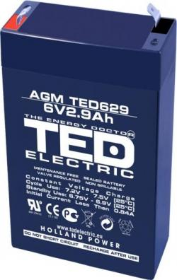 Olovna-Bateriq-TED-ELECTRIC-6-V-2.9-Ah-65-33-105mm-AGM