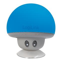 Speaker-Logilink-Bluetooth-Mushroom-Blue-SP0054BL