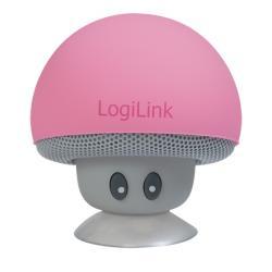 Speaker-Logilink-Bluetooth-Mushroom-Pink-SP0054PK