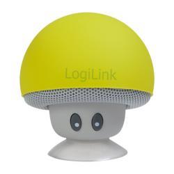 Speaker-Logilink-Bluetooth-Mushroom-Yelow-SP0054YW