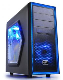 DeepCoolTESSERACT-SW+TRUST-Ziva-Gaming-mouse