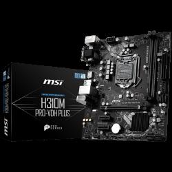 MSI-Main-Board-Desktop-H310-S1151v2-DDR4-USB3.1-USB2.0-SATA-III-mATX