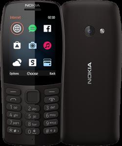 NOKIA-210-DS-BLACK