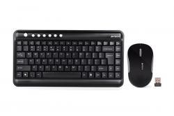 Komplekt-mini-klaviatura-i-mishka-A4tech-3300N-Bezzhichen-Cheren