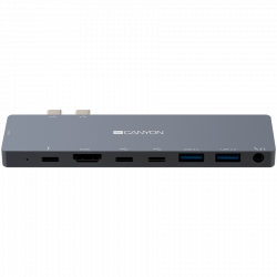 Canyon-Multiport-Docking-Station-with-8-port-Space-gray-135*48*10mm