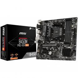 MSI-Main-Board-Desktop-B450-SAM4-4xDDR4-1xPCI-E-X16-2xPCI-E-X1-mATX-Retail